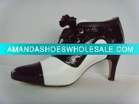 fashion leather lady shoes