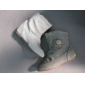 leisure style spring outdoor dress boots white grey color