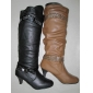 warm quality black color lady fashion winter boots in 2010