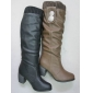 fashion design nice color PU material lady tall boots