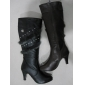 winter tall boots cheap price popular design black color