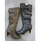winter stock tall boots trendy style nice color good quality in 2009