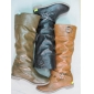 Wholesale nice style lady dress leisure stock winter knee high boots