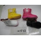 Kids' Fashion Boots Hairy Inside Leather Face Little Words Carto