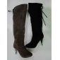 dark color good quality lady boots winter fashion boots