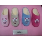 Wholesale Women's House Slippers Bedroom Comfort Soft Fuzzy inside Fleece Cartoon Image