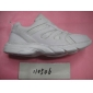 Men's Sneakers Running Sport White Grids Ventilate Gym Outdoor Athlete Shoes