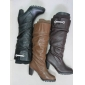 Wholesale trendy style fashion design dress women's winter leather boots