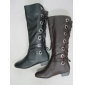 Wholesale lady sexy dress winter outdoor leather boots in 2010 hot selling