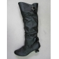 winter dress leather boots cheap price mixed color packing