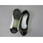 the newest fashion model in 2010 nice material women dress flat shoes