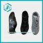 Wholesale Men's Fitness Shoes Leather Face Sport Running Stripe Fashion Style Gym Outdoor Sneaker