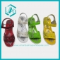 2010 cute girls sandals, summer shoes, colour shoes, women's sli