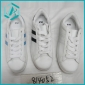 hot selling stock sports comfortable shoes black,white and blue color