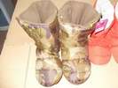 colorful satin indoor wear-resistant boots