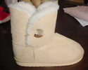 plush popular soft texture well processed lady's indoor boot