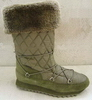 navy nylon popular fashionable well processed anti-skid Snow boots