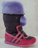 artificial wool girls long time resistant sophisticated materials Snow boots
