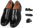 office shoe british style and hot sale genunie leather flat shoes DABG3070