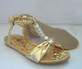 gold girls fashionable girls hot selling exquisite Children Fashion Sandal