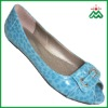 newly designed high quality handcraft peep toe shoes