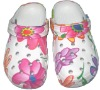 best sale comfort-footed EVA Nice Flower Printing clogs