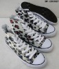 Wholesale 2011 top 10 trendy canvas shoes