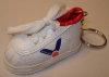 fashion high quality white shoe keychain sneaker