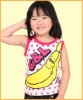 Wholesale T Shirt for Children,Sleeveless,Crew Neck