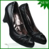 Wholesale Genuine leather Low Heel Women Dress Shoes