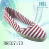 Wholesale lady casual shoes in canvas